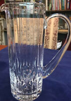 "Crystal Diamond Tall Martini Pitcher 10"" Barware Water Pitcher"