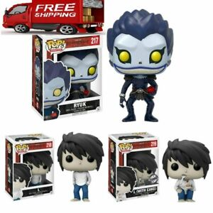 Funko Death Note RYUK Lawliet PVC Ornaments Toys Vinyl Kids Collection Gift Fans