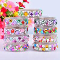 Jewelry Crystal Adhesive Washi Sticky Paper-Tape Diary Photo Sticker$
