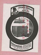 GÖRLITZ, Werbung 1929, Eduard Esser & Co Woll-Färbe-Maschinen Scher-Messer