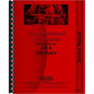 Case-IH 235 Diesel Tractor Service Manual with Mitsubishi 3 cylinder engine