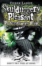 Playing With Fire (Skulduggery Pleasant, Book 2) by Derek Landy (Hardback, 2008)