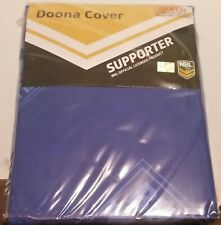 New NRL CANTERBURY BULLDOGS QUEEN DOONA COVER WITH PILLOWCASES