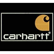 Iron Patch bestickt Patch zona ricamata parche bordado tipo CARHARTT(HORIZONTAL)