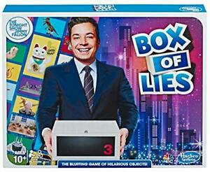 Hasbro Gaming The Tonight Show Starring Jimmy Fallon Box of Lies Party Game f...