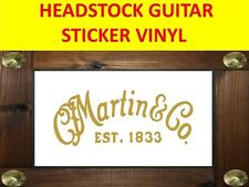 C F MARTIN C F GOLD STICKER GUITAR AUFKLEBER PRODUCT ON SALE UNTIL END OF STOCK