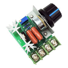 AC 2000W Motor Speed PWM Controller Control Voltage Regulator Dimmer 110-220V