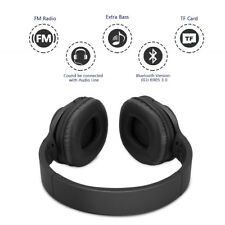 Wireless Bluetooth Stereo Kopfhörer Kabellos Headsets +Mic Für Handy PC Laptop