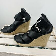 Dolce Vita for Target 9 Sandals Wedge Strappy Heels Ankle Buckle Size 9