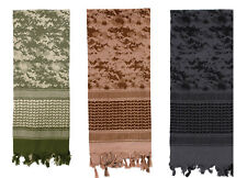 Shemagh Tactical Desert Scarf Camouflage Face Mask Keffiyeh USMC Navy Army CAMO