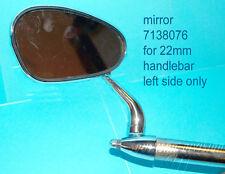 Classic Boum mirror bar end 7/8 50th style miroir lenkerende 22 mm BSA DKW AWO