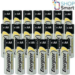 20 ENERGIZER AA ALKALINE LR6 BATTERIES 1.5V INDUSTRIAL MIGNON MN1500 AM3 E91 NEW