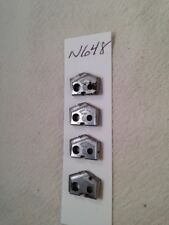 New listing 4 New 14.80 Mm Allied Spade Drill Insert Bit Amec. 450H Usa Made. T (N648)