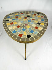 50´s design mosaïque appoint table/mosaic table side table 30 cm 09978