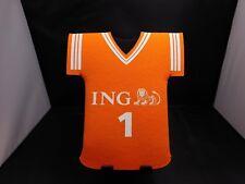 ING - BOTTLE FOAM COVER - FOOTBALL JERSEY - ORANGE - RETRO