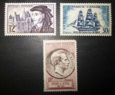 Timbres neufs France YT 1034 1035 1043 - 1955