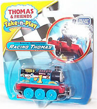 Thomas & Friends N Play Racing Thomas Diecast Take Conectores magnética NUEVO DGF85