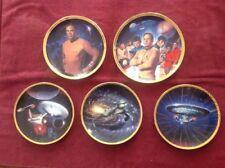 Star Trek Hamilton Collection 25th Anniversary Plates Captain Kirk