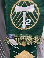 Timbers T2  Argyle Scarf Axe MLS USL