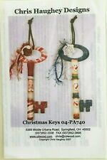 New ListingChris Haughey Christmas Tole Painting Pattern Packet Believe and Wish Keys
