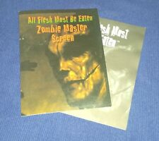 ALL FLESH MUST BE EATEN - Zombie Master Screen complete with adventure module