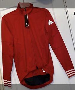 Adidas Adistar Long Sleeve Cycling Small Red