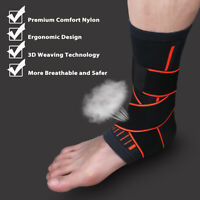 Ankle Brace Support Stabilizer Guard Sprain Tendonitis Achilles Drop Foot Strap