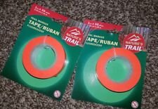 Nature's Trail Fluorescent Trail Marker Tape Lot of 2