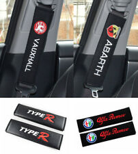 1 or 2 x Seat Belt Cover Pads NEW UK Seller All Auto Brands (23-25cm)