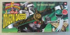 VINTAGE 90'S MIGHTY MORPHIN POWER RANGERS DRAGON DAGGER IN BOX BANDAI #2251