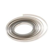 10M 8mmx0.2MM vernickelt stahlband für Li 18650 26650 Batterie SpotWelding WRD