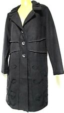 plus sz S / 16 TS TAKING SHAPE In Bloom Coat black winter comfy chic NWT rp$230!