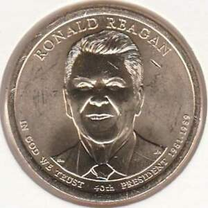 Amerika dollar 2016 D Unc - Ronald Reagan