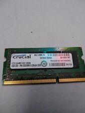 CRUCIAL 4GB SODIMM 512MX64DDR Laptop Memory CT51264BC1067 8SDA