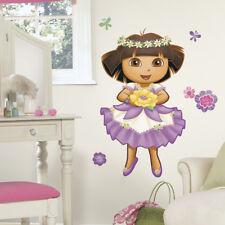 Children's Dora The Explorer Wall Stickers, Girl's Giant Dora The Explorer Decal