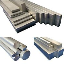 Aluminium Round, Square, Flat Bar Stock Metal Solid Rod, 50mm to 600mm long