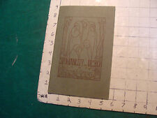vintage BOOKLET: SPONTANEITY IN DESIGN anna e keener--1923, 1st editition, RARE