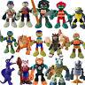 TMNT Teenage Mutant Ninja Turtles Half Shell Heroes Splinter Rocksteady figures