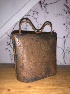 Antique Cow Bell Good Size 5x5 Inch Large