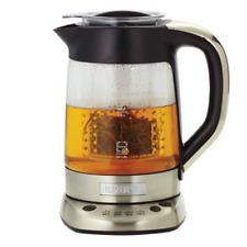 Krups 2-in-1 Electric Glass Water Kettle and Tea Maker 40 oz - New
