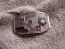 Vintage Hook-Fast Belt Buckle H. R. D.