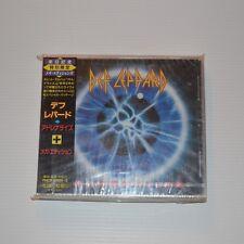 DEF LEPPARD -Adrenalize - 1993 CD JAPAN + Bonus 4-TRACKS LIVE CD NEW & SEALED