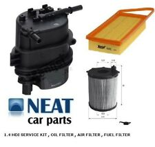 SERVICE PARTS KIT FOR 206 1.4 HDI AIR OIL FUEL FILTERS