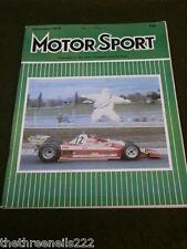 MOTORSPORT - NOV 1978 - CORTINA GHIA 2.3 V6 ESTATE