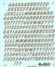 """Slixx 8032 Alpha Numeric 1/4"""" Drag decal"""