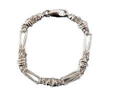 """Sterling Silver Hand Made 7.5"""" Designer Bracelet (141/7)"""