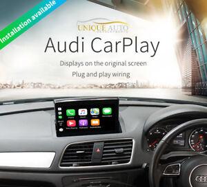 Wireless Apple CarPlay Navigation Camera Interface Audi Q3 Retrofit Kit GPS