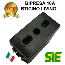 Bticino PRESA BIPASSO BIPRESA LIVING LIGHT INTERNATIONAL 16A