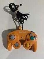 Official Nintendo GameCube Controller Original Spice Orange DOL-003 Tested Great
