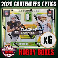 2020 Panini Contenders Optic 6 HOBBY BOX (12 Autos) - RANDOM TEAM BREAK